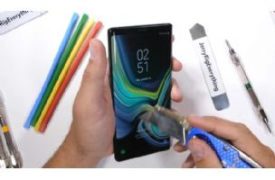 Kako se Galaxy Note9 snalazi na testu izdržljivosti? (video)
