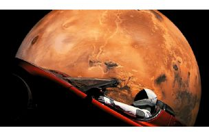 "SpaceX Starman i Tesla Roadster prvi put proleteli ""pored"" Marsa"